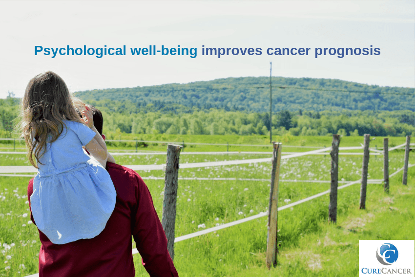 Psychological well-being improves cancer prognosis