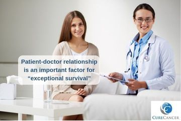 "Patient – doctor relationship is an important factor for ""exceptional survival"""