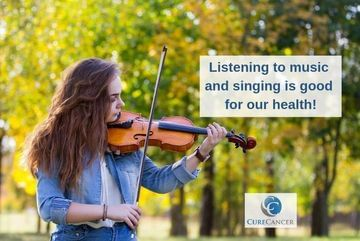 Listening to music and singing is good for our health!