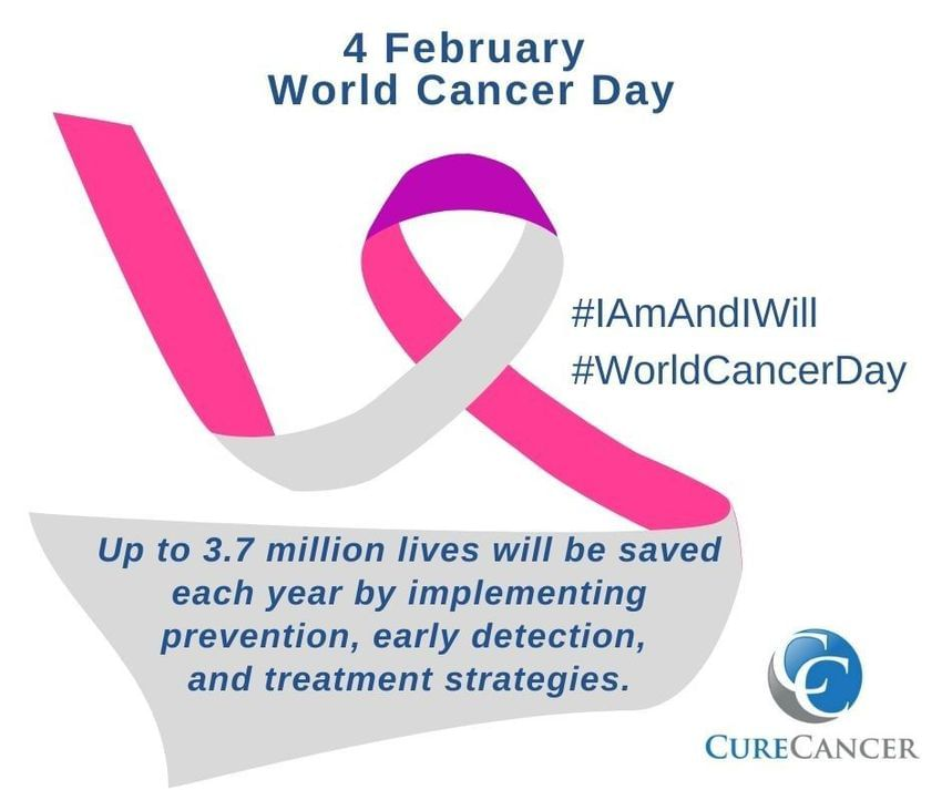 World Cancer Day, February 4