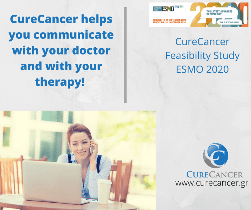 CureCancer helps patients with their therapy and to communicate with their doctor!