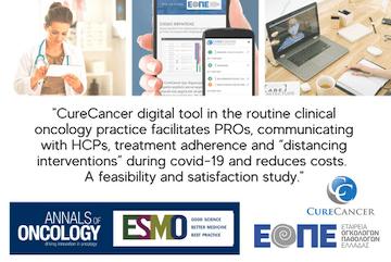 Annals of Oncology:  Δημοσίευση του abstract της μελέτης του CureCancer