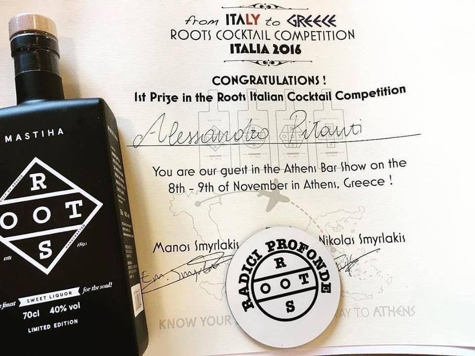 Roots Cocktail Competition in Italy