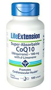 SUPER-ABSORBABLE CoQ10™ with d-Limonene