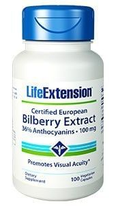 CERTIFIED EUROPEAN BILBERRY EXTRACT