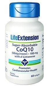 Super Absorbable CoQ10™ (Ubiquinone) with d-Limonene [50mg/100mg]