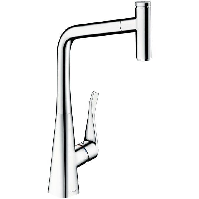Single lever kitchen mixer 320 with pull-out spout