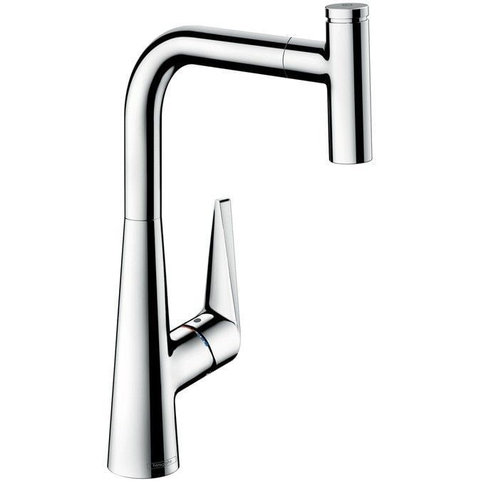 Talis Select S Single lever kitchen mixer 300 with pull-out spout