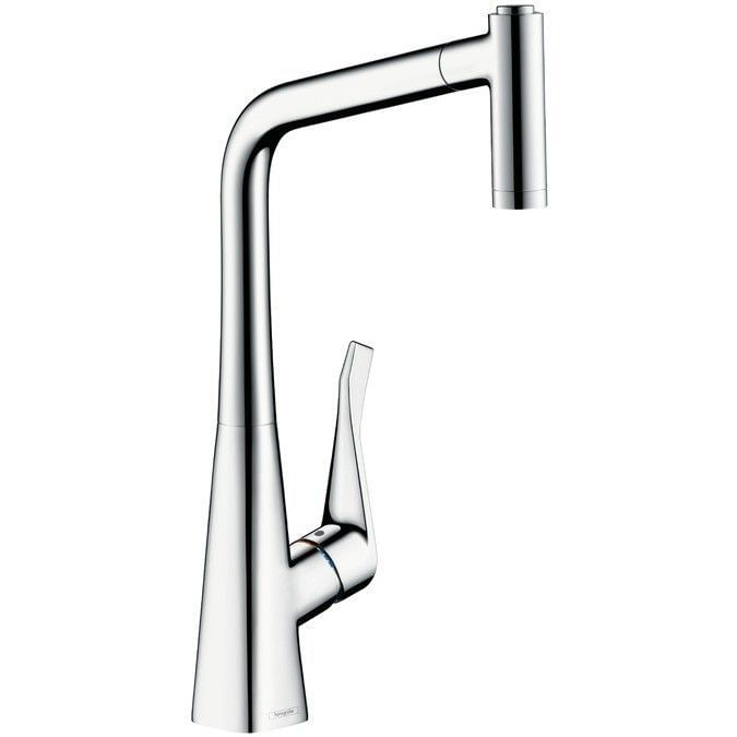 Metris Single lever kitchen mixer 320 with pull-out spray