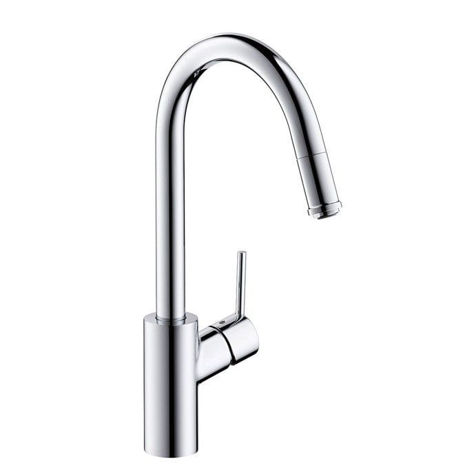 Talis S² with Single lever kitchen mixer with pull-out spout