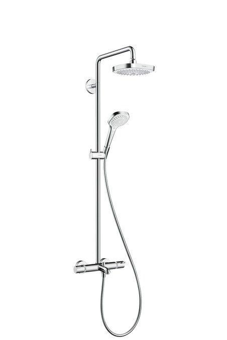 Croma Select E 180 2jet Showerpipe for bath tub