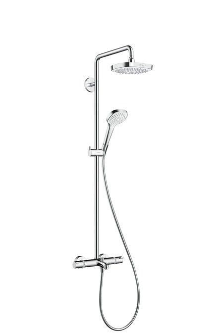 Croma Select E 180 2jet Showerpipe for bath tub