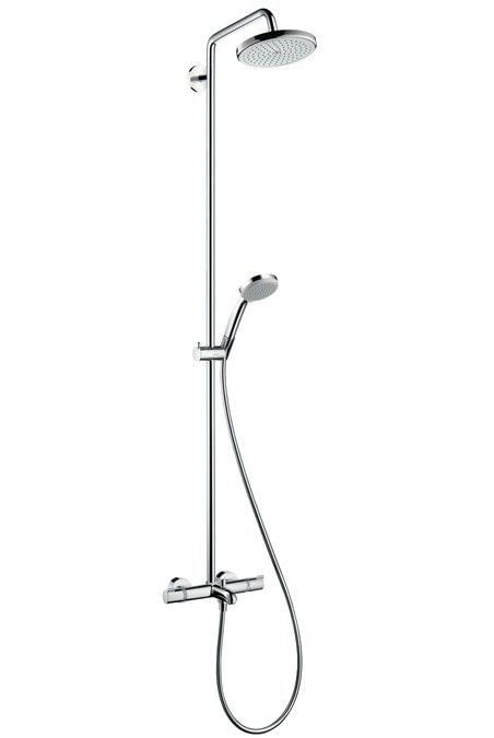 Croma 220 Air 1jet Showerpipe for bath tub