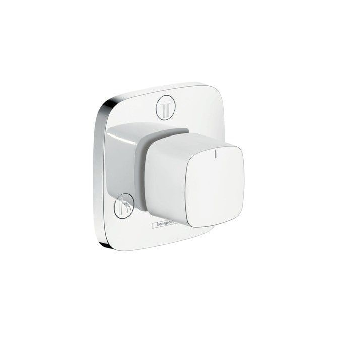 PuraVida Trio/ Quattro shut-off/ diverter valve for concealed installation