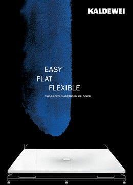 Easy - Flat - Flexible Shower Trays