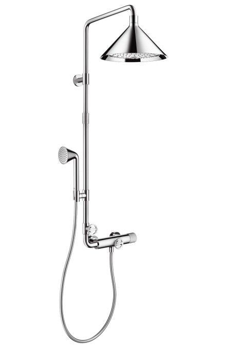 Axor Θερμοστατική στήλη με κεφαλή 2 ροών designed by Front