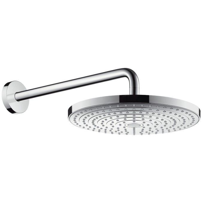 Raindance Select S 300 2jet overhead shower with shower arm 390mm