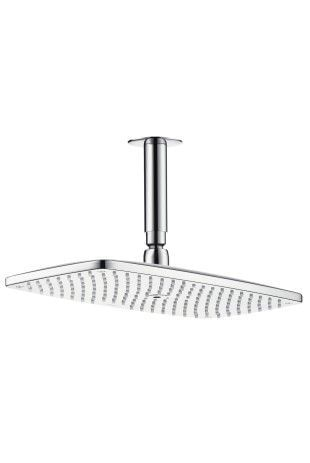 Raindance E 360 Air 1jet Overhead Shower DN15 with 100mm ceiling connector