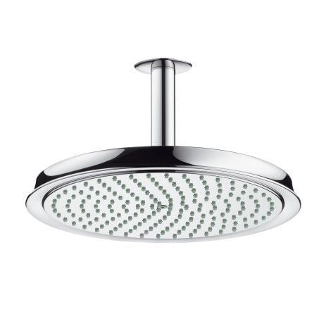 Raindance Classic Air Plate Overhead ShowerØ 240mm DN15 with ceiling connector 100mm