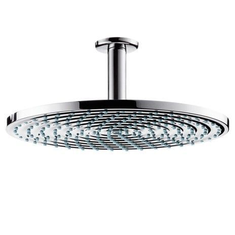 Raindance Air Plate Overhead Shower Ø300mm DN15 with ceiling connector