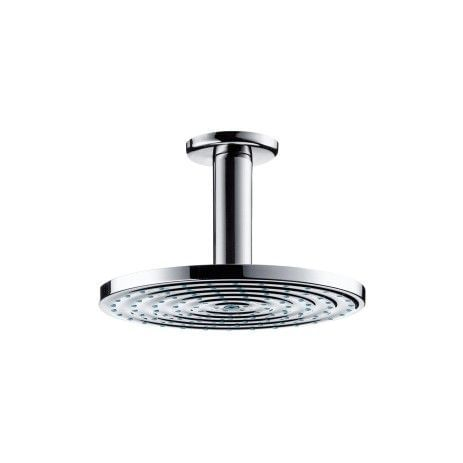 Raindance Air Plate Overhead Shower Ø180mm DN15 with ceiling connector