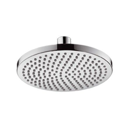 Croma 160 Plate Overhead Shower with swivel joint DN15