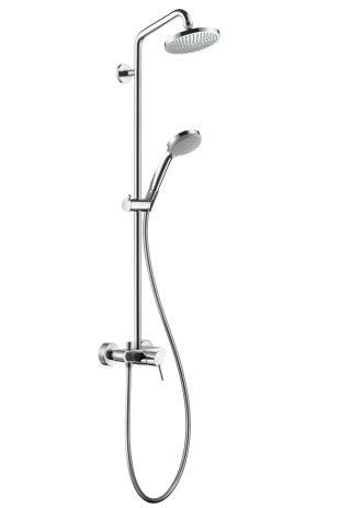 Croma 100 Showerpipe Single Lever Mixer