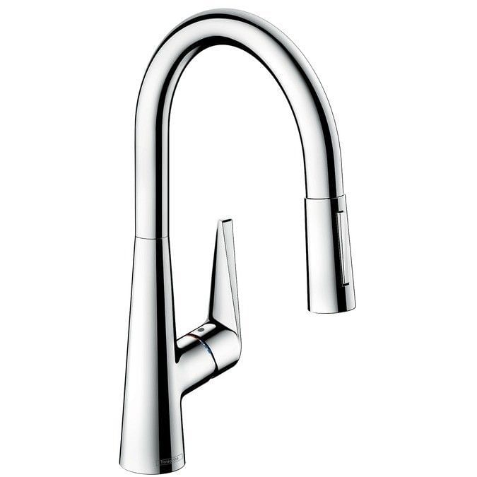 Talis S Single lever kitchen mixer 200 with pull-out spray