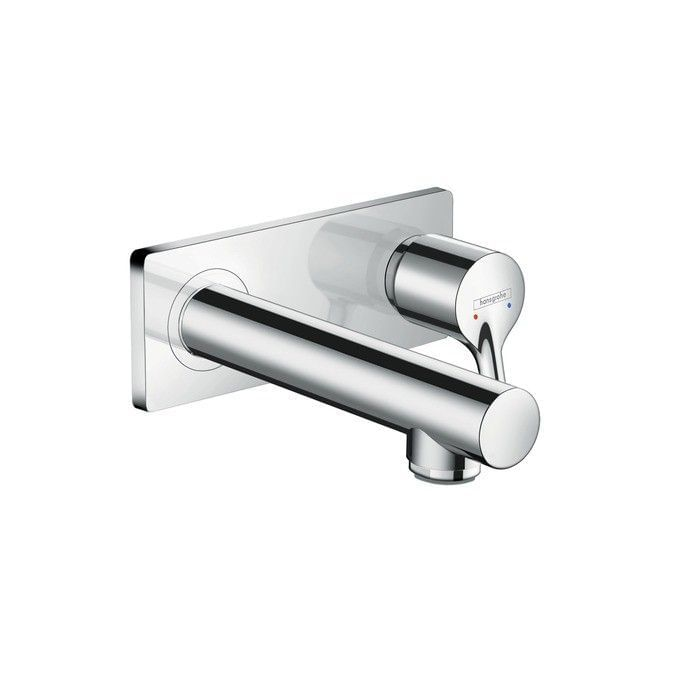Talis S Single lever basin mixer for concealed installation with spout 165 mm wall-mounted