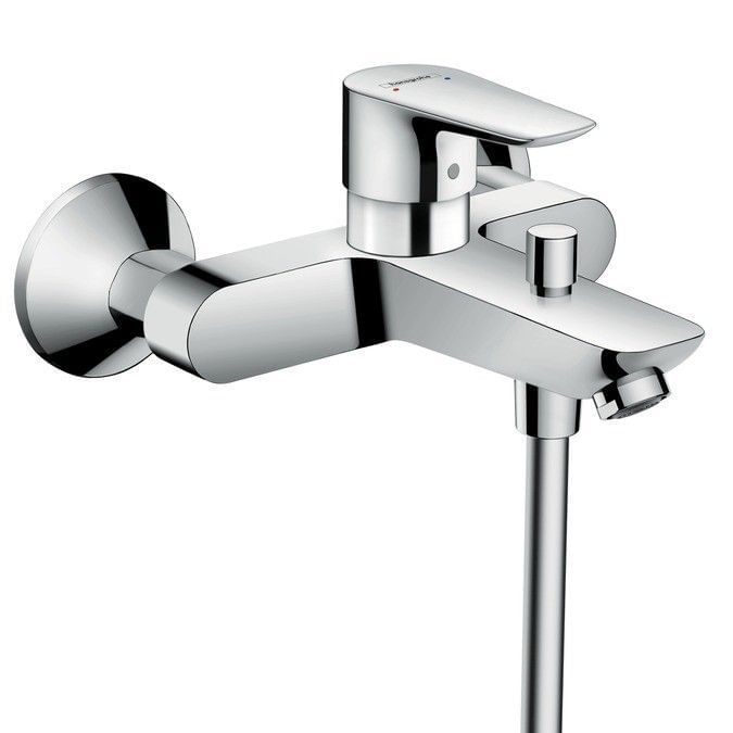 Talis E Single lever bath mixer for exposed installation