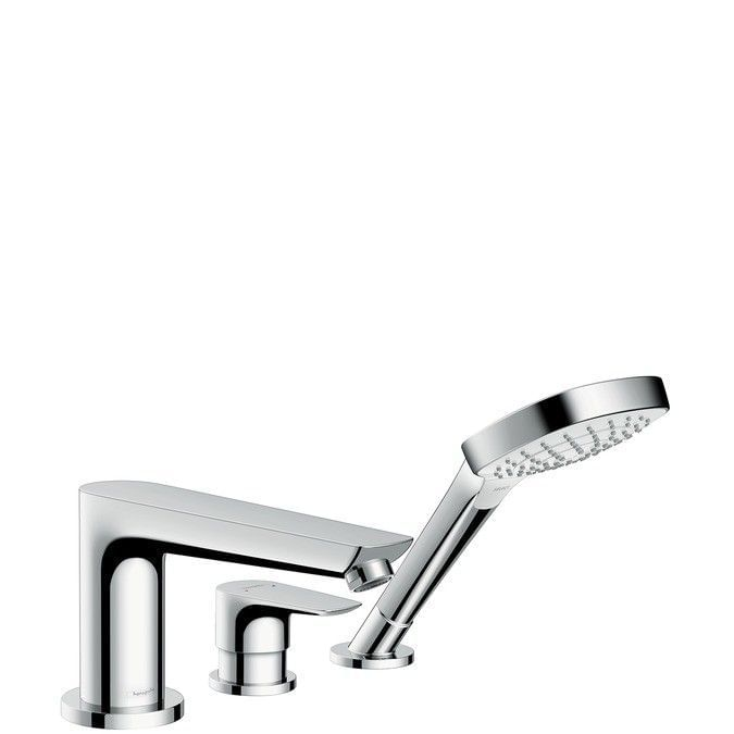Talis E 3-hole rim mounted bath mixer