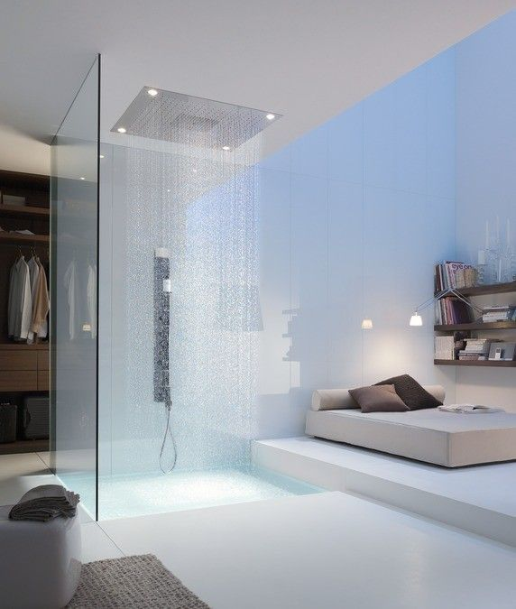 AXOR STARCK ShowerHeaven 970x970mm ΚΕΦΑΛΗ ΝΤΟΥΣ ΟΡΟΦΗΣ with lighting