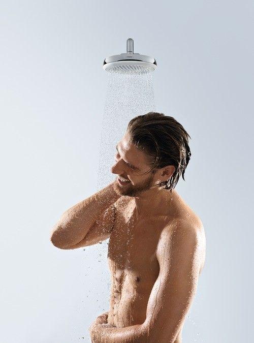 Crometta 160 1jet overhead shower