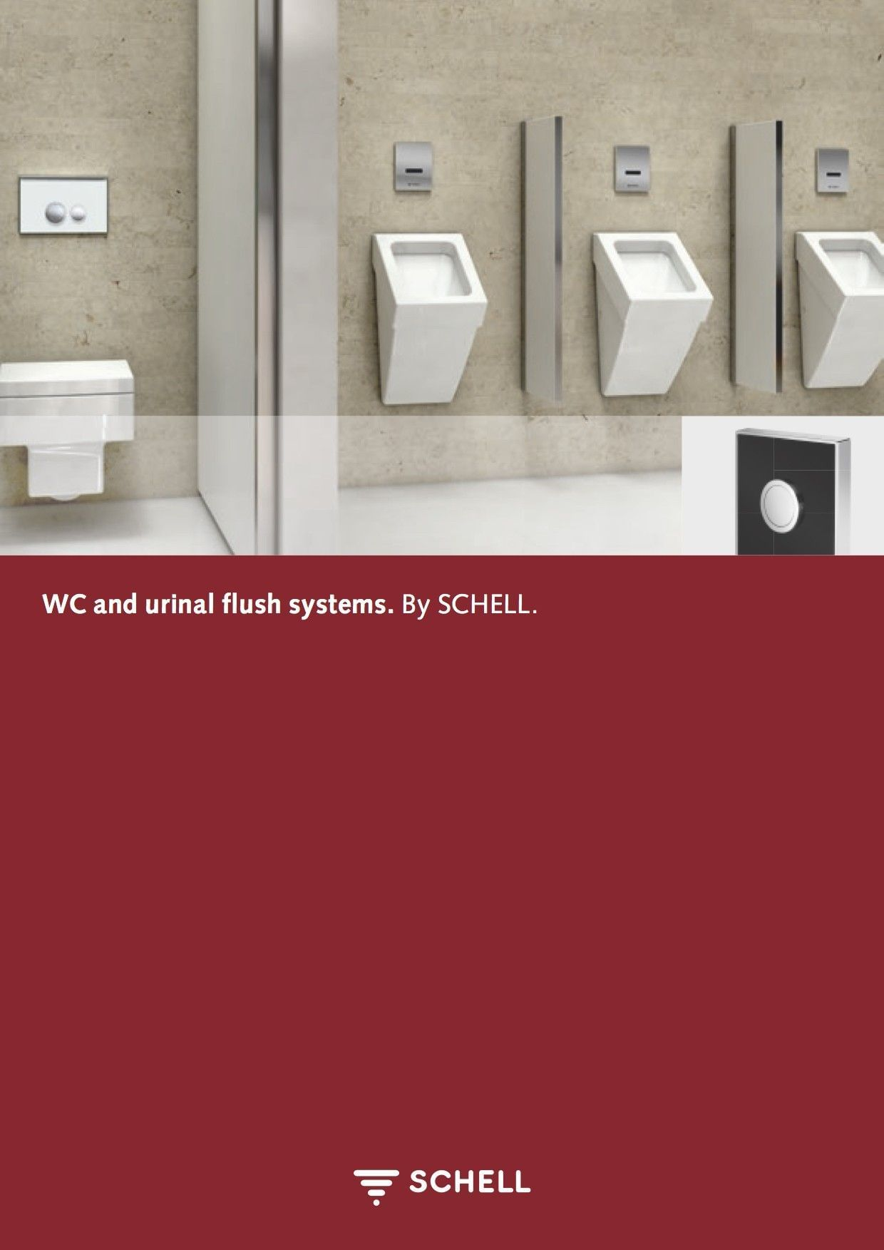 WC and urinal flush systems