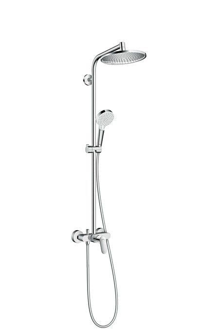 Στήλη Ντους Crometta S 240 1jet Showerpipe with single lever mixer