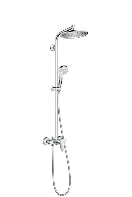 Στήλη Ντους Crometta S 240 1jet Showerpipe with single lever mixer