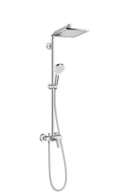 Στήλη Ντους Crometta E 240 1jet Showerpipe with single lever mixer