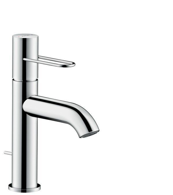 AXOR Uno Single lever basin mixer 100 loop handle with pop-up waste set