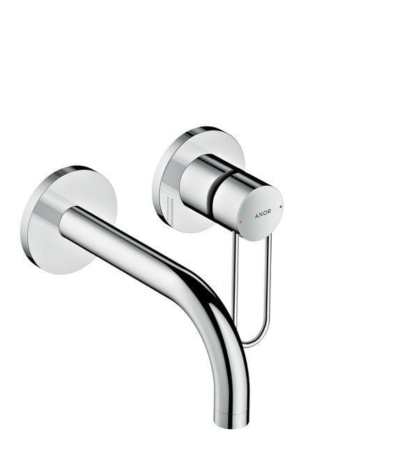 AXOR Uno Single lever basin mixer for concealed installation loop handle wall-mounted 165