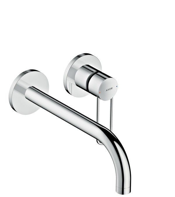 AXOR Uno Single lever basin mixer for concealed installation loop handle wall-mounted 225
