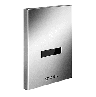 SCHELL urinal control EDITION  E Stainless Steel