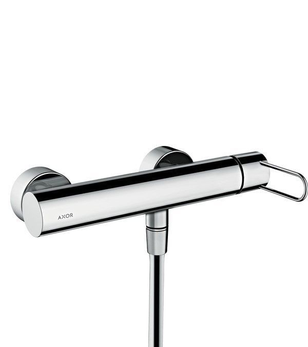 AXOR Uno Single lever shower mixer for exposed installation loop handle