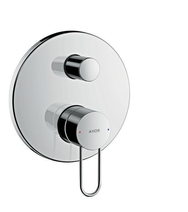 AXOR Uno Single lever bath mixer for concealed installation loop handle