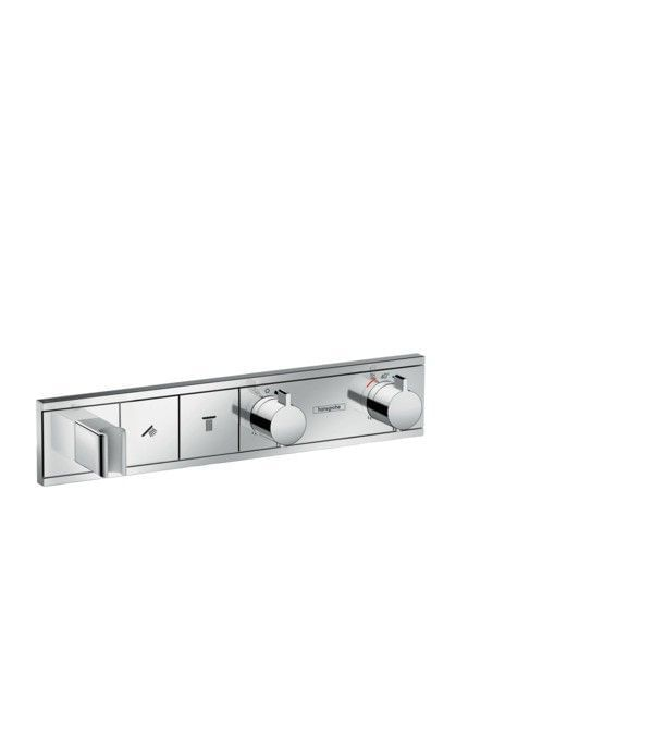 RainSelect Finish set for concealed installation for 2 functions