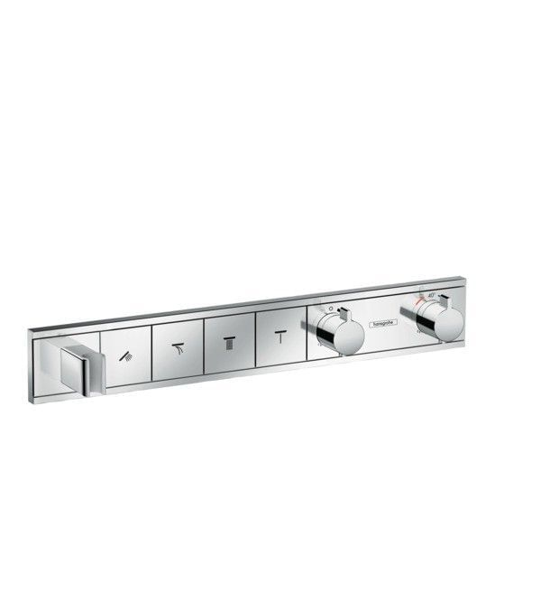 RainSelect Finish set for concealed installation for 4 functions