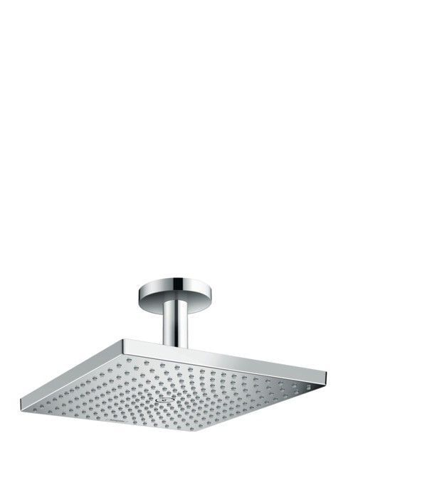 Raindance E 300 Air 1jet overhead shower with ceiling connector 100 mm