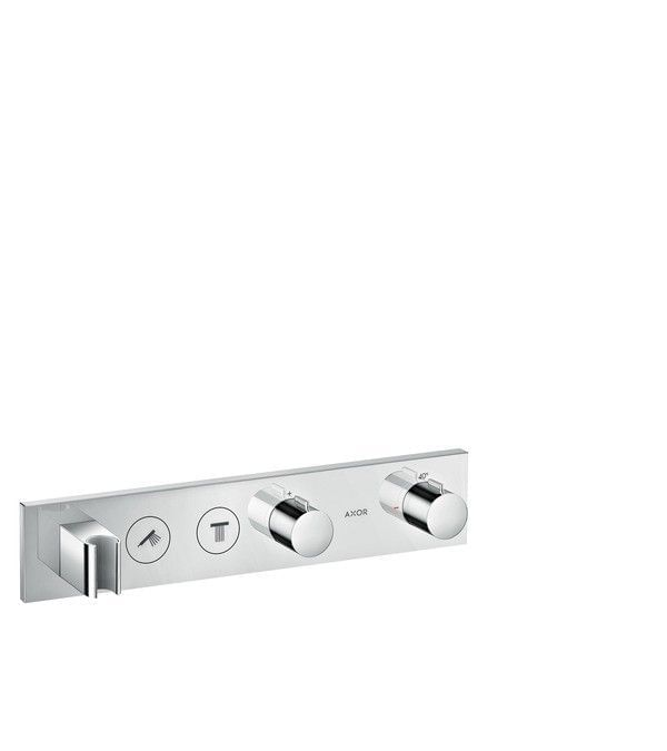 Thermostatic module Select 460/90 for 2 functions for concealed installation