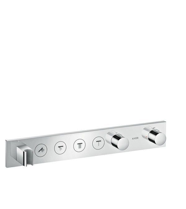 Thermostatic module Select 600/90 for 4 functions for concealed installation