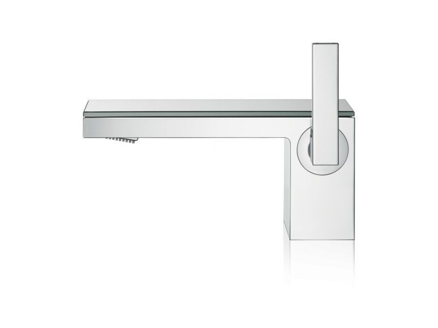 Single lever basin mixer 70 with push-open waste set