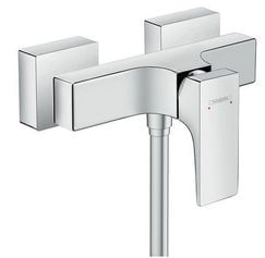 Metropol Single lever shower mixer for exposed installation with lever handle